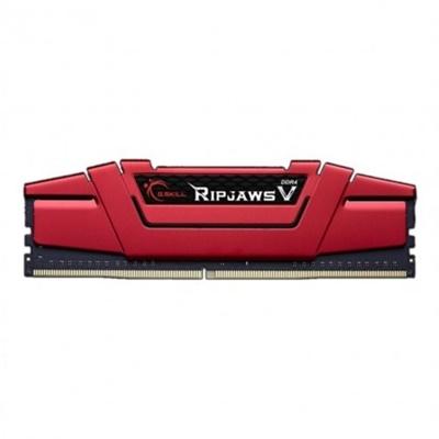 G.Skill 4GB RipjawsV Kırmızı 3200mhz CL16 DDR4  Ram (F4-3200C16S-4GVKB)