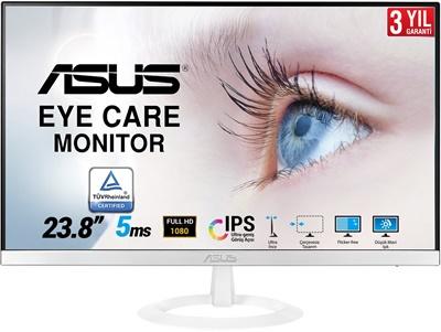 """En ucuz Asus 23.8"""" VZ249HE-W 5ms 60hz HDMI,D-Sub Monitör Fiyatı"""