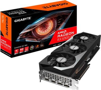 Gigabyte Radeon RX 6900 XT Gaming OC 16G 16GB GDDR6 256 Bit Ekran Kartı