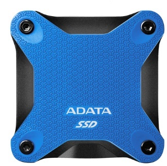 Adata 480GB SD600Q Mavi Okuma 440MB-Yazma 440MB USB 3.1 Taşınabilir SSD (ASD600Q-480GU31-CBL)