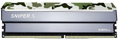 G.Skill 8GB SniperX Orman Kamuflaj 3000mhz CL16 DDR4  Ram (F4-3000C16S-8GSXFB)