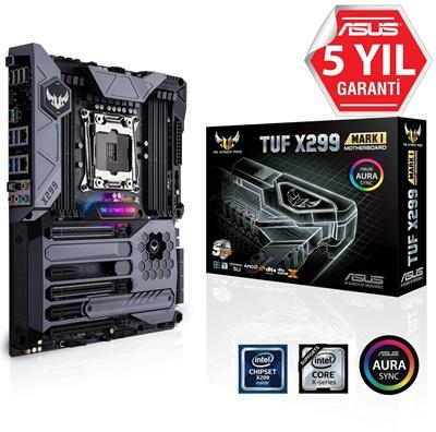 En ucuz Asus TUF X299 Mark 1 4133mhz(OC) RGB M.2 2066p ATX Anakart Fiyatı