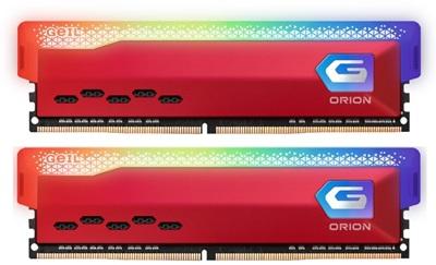 GeIL 32GB(2x16) Orion RGB 3600mhz CL18 DDR4  Ram (GAOSR416GB3600C18BSC16GBX2)