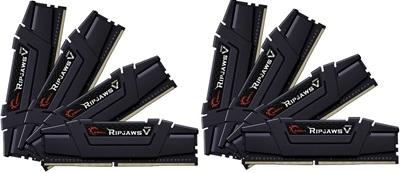 En ucuz G.Skill 256GB(8x32) Ripjaws V 3200mhz CL16 DDR4  Ram (F4-3200C16Q2-256GVK) Fiyatı