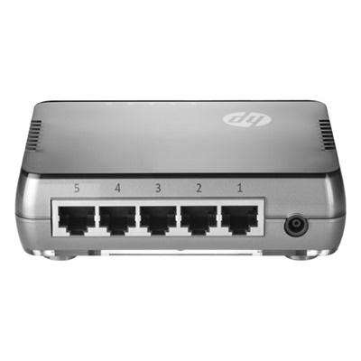 HP JH407A 5 Port Gigabit Yönetilemez Switch