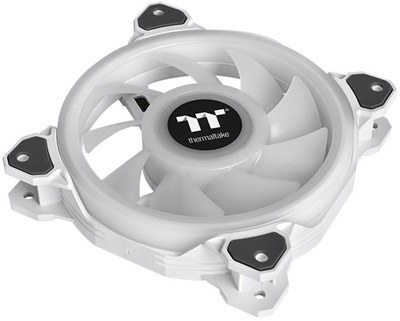 En ucuz Thermaltake Riing Quad ARGB TT Premium White Edition 140mm Fan(3'lü Set)  Fiyatı