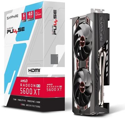 En ucuz Sapphire Radeon RX5600XT Pulse 6GB GDDR6 192 Bit Ekran Kartı Fiyatı