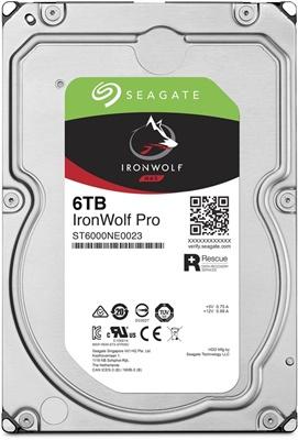 Seagate 6TB Ironwolf Pro 256MB 7200rpm (ST6000NE0023) NAS Diski