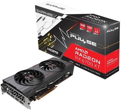 Sapphire Radeon RX 6700 XT Pulse OC 12GB GDDR6 192 Bit Ekran Kartı