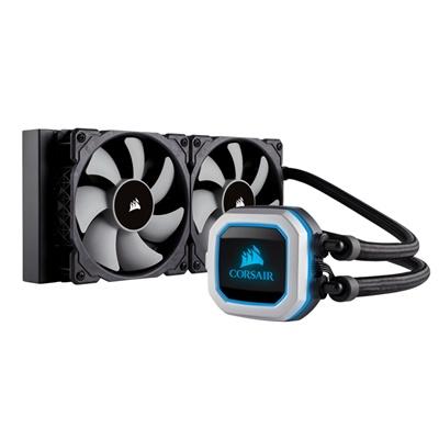 Corsair Hydro Series H100i PRO RGB 240 mm Intel-AMD Uyumlu Sıvı Soğutucu