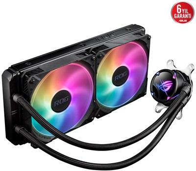 Asus Rog Strix LC II ARGB 280 mm Intel-AMD Uyumlu Sıvı Soğutucu