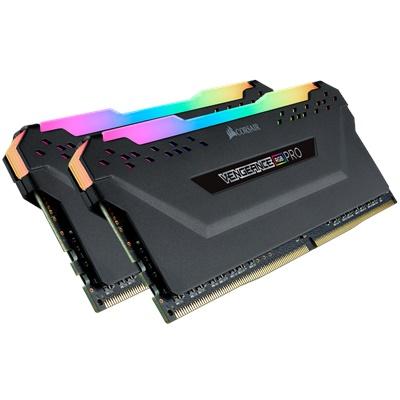 En ucuz Corsair 16GB(2x8) Vengeance Pro RGB 3200mhz CL16 DDR4  Ram (CMW16GX4M2Z3200C16) Fiyatı