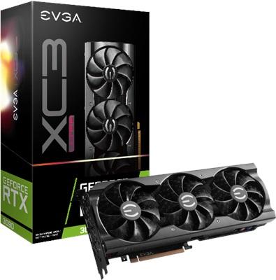 EVGA GeForce RTX 3090 XC3 Ultra Gaming 24GB GDDR6X 384 Bit Ekran Kartı