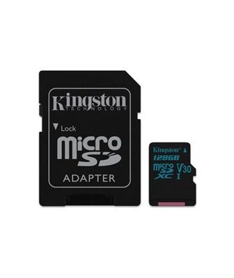 Kingston 128GB microSDXC Canvas Go! 90MB/s UHS-I U3 Class 10 Hafıza Kartı (SDCG2/128GB)