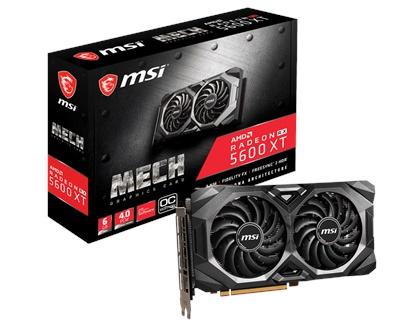 En ucuz MSI Radeon RX5600XT MECH OC 6GB GDDR6 192 Bit Ekran Kartı Fiyatı