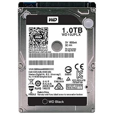 WD 1TB Black 32MB 7200rpm (WD10JPLX) Notebook Disk