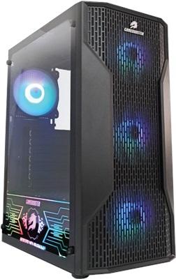 GameBooster GB-G3309B 550W 80+ Tempered Glass RGB USB 3.0 ATX Mid Tower Kasa