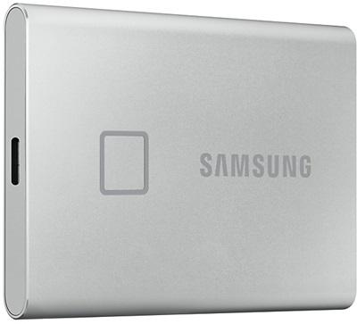En ucuz Samsung 500GB T7 Touch Silver Okuma 1050MB-Yazma 1000MB USB 3.2 SSD (MU-PC500S-WW) Fiyatı