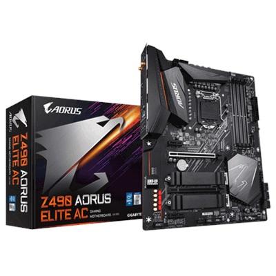 En ucuz Gigabyte Z490 Aorus Elite AC 5000mhz(OC) RGB M.2 Wi-Fi 1200p ATX Anakart Fiyatı