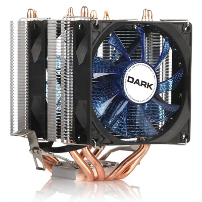 Dark Freezer X94 92 mm Mavi Led Fan Intel-AMD Uyumlu Hava Soğutucu