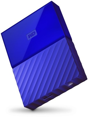 WD 3TB My Passport Mavi USB 3.0 2.5 (WDBYFT0030BBL-WESN) Taşınabilir Disk
