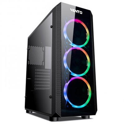 En ucuz Asus Vento VG04FE Tempered Glass RGB USB 3.0 ATX Mid Tower Kasa  Fiyatı