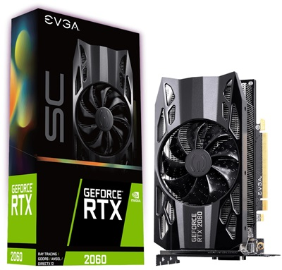 EVGA GeForce RTX 2060 SC Gaming 6GB GDDR6 192 Bit Ekran Kartı