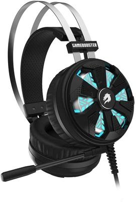En ucuz GameBooster Spirit Wheel RGB 7.1 Surround Siyah Gaming Kulaklık  Fiyatı