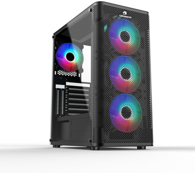 GameBooster GB-M206B Tempered Glass RGB USB 3.0 ATX Mid Tower Kasa