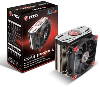 MSI Core Frozr L 120 mm Intel-AMD Uyumlu Hava Soğutucu