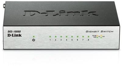 En ucuz D-Link DGS-1008D 8 Port Gigabit Yönetilemez Switch Fiyatı