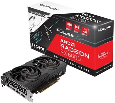 Sapphire Radeon RX 6600 Pulse 8GB GDDR6 128 Bit Ekran Kartı