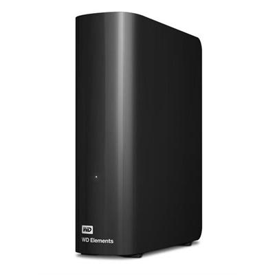 WD 3TB Elements Desktop Siyah USB 3.0 3,5 (WDBWLG0030HBK) Taşınabilir Disk