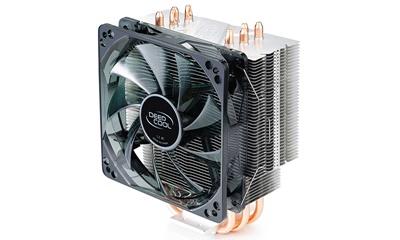 Deep Cool Gammaxx 400R 120 mm Kırmızı Led Fan Intel-AMD Uyumlu Hava Soğutucu