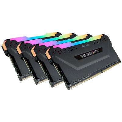 En ucuz Corsair 32GB(4x8) Vengeance RGB Pro 3200mhz CL16 DDR4  Ram (CMW32GX4M4Z3200C16) Fiyatı
