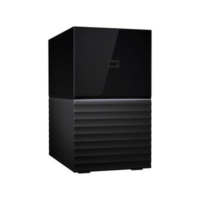 WD 16TB My Book Duo Siyah USB 3.0 3,5 (WDBFBE0160JBK-EESN) Taşınabilir Disk