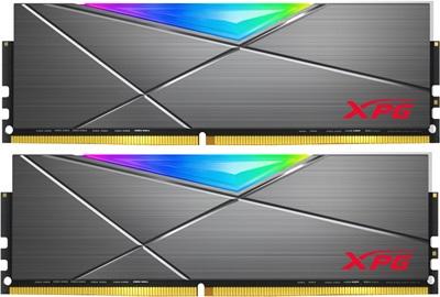 En ucuz XPG 16GB(2x8) Spectrix D50 RGB 3200mhz CL16 DDR4  Ram (AX4U320038G16A-DT50) Fiyatı