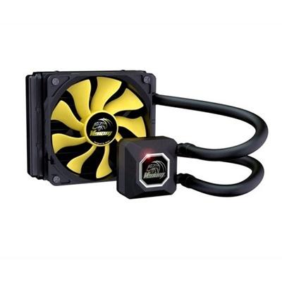 Akasa Venom A10 120 mm Sarı Fan Intel-AMD Uyumlu Sıvı Soğutucu