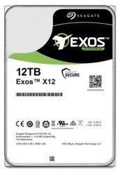 Seagate 12TB Exos 256MB 7200rpm (ST12000NM0008) Harddisk