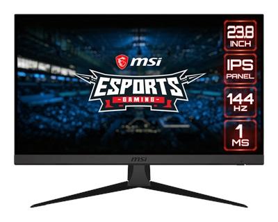 """MSI 23.8"""" Optix G242 1ms 144hz HDMI,DisplayPort G-Sync Gaming Monitör"""