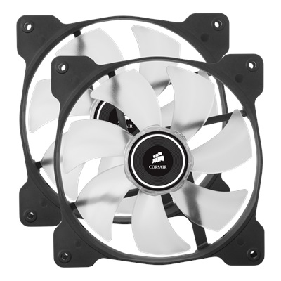 En ucuz Corsair Air Series SP140 Beyaz Led 140 mm Fan(2'li Set)  Fiyatı
