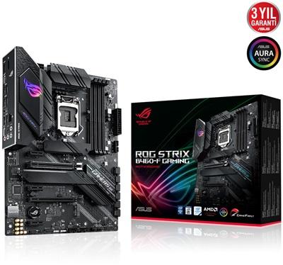En ucuz Asus ROG Strix B460-F Gaming 2933mhz(OC) RGB M.2 1200p ATX Anakart Fiyatı