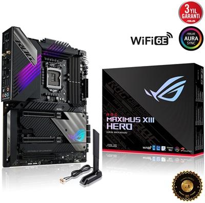 Asus ROG Z590 Maximus XIII Hero 5333mhz(OC) RGB M.2 Wi-Fi 1200p ATX Anakart