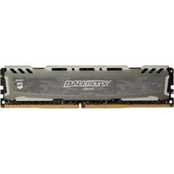 Crucial 16GB Ballistix Sport LT Siyah 2666mhz CL16 DDR4  Ram (BLS16G4D26BFSB)