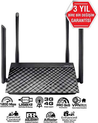 Asus RT-AC1200 300Mbps 4 Port Router