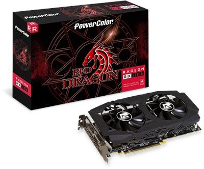 En ucuz PowerColor Red Dragon Radeon RX580 8GB GDDR5 256 Bit Ekran Kartı Fiyatı