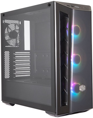 En ucuz CoolerMaster MasterBox MB520 ARGB Tempered Glass USB 3.2 ATX Mid Tower Kasa  Fiyatı