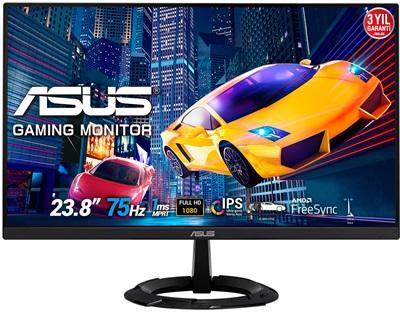 "Asus 23.8"" VZ249HEG1R 1ms 75hz HDMI,VGA FreeSync Monitör"
