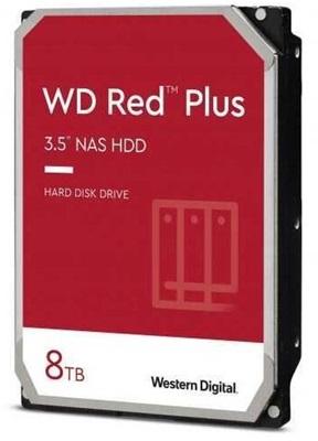 WD 8TB Red Plus 256MB 7200rpm (WD80EFBX) Harddisk