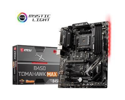 MSI B450 Tomahawk Max II 4133mhz(OC) RGB M.2 AM4 ATX Anakart